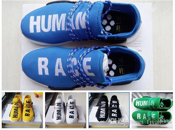Compre Originals Nmd Human Race Runner Pharrell Williams X Nmd Runner Race 2018 f91856