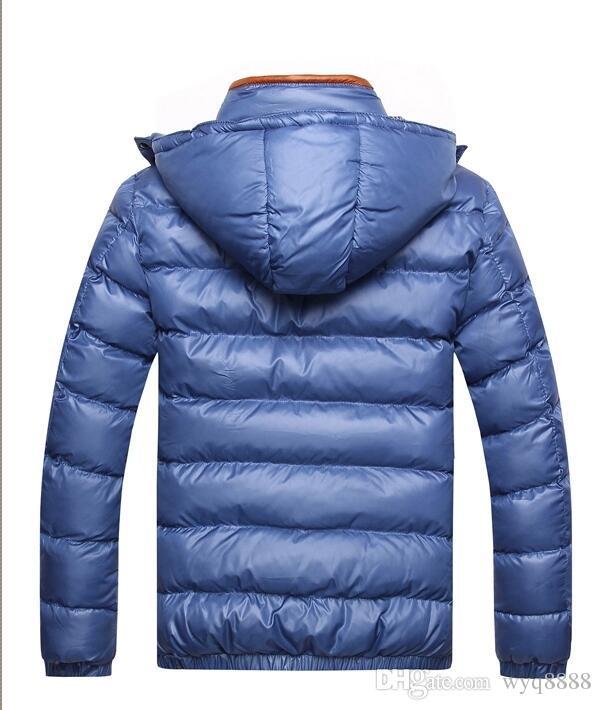 Freies Verschiffen 2018 Mens Hooded Mantel Jacke Winter Jacke Männer Baumwolle Marke Kleidung Jacken Mans Baumwolle Mäntel
