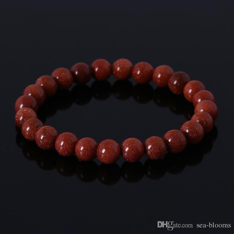 5 stile gemma semi preziosa occhio di tigre naturale pietre perline tondo tratto 7 chakra energia di guarigione pietra braccialetto amante regalo spedizione gratuita D265S
