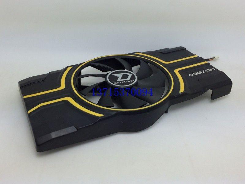 PowerColor HD7850 Graphics Card Cooler Single Fan PLA09215D12H 4 -pin wentylator