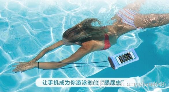 Chegada Oferta Especial para Samsung para Htc para Blackberry para Nokia Plástico À Prova D 'Água Do Telefone Móvel Caso, saco à prova d' água, saco do Caso pvc