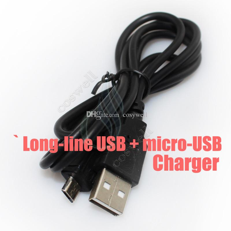 electronic cigarette Charger USB DC 2.0 ego mini USB USBcalab Scalable passthrough A TYPE MALE TO 2.5mm DC2.0 for g Battery e cigs chargers