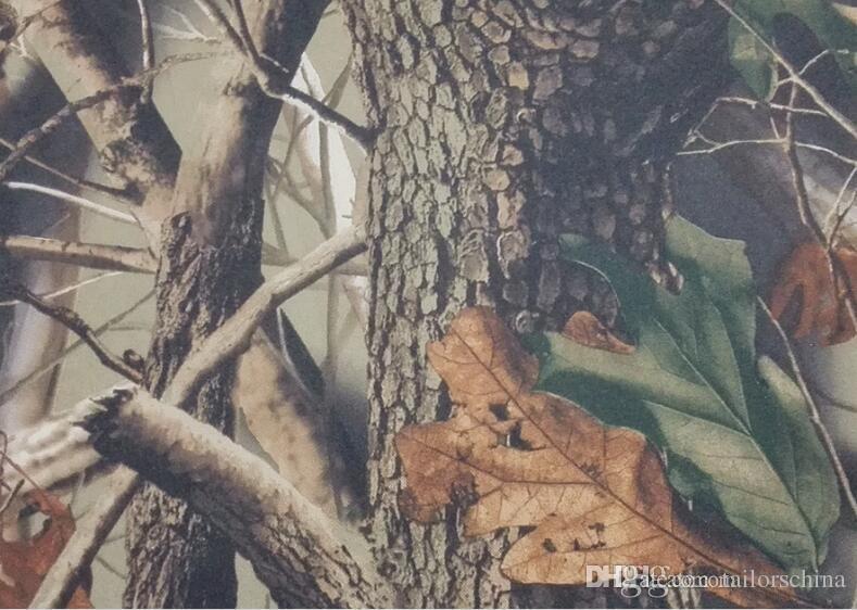 2018 Nuovi giubbotti da sposa Real Camo Gilet da sposo Tronco d'albero Foglie Primavera Camouflage Slim Fit Gilet da uomo Set 2 pezzi Gilet + Cravatta