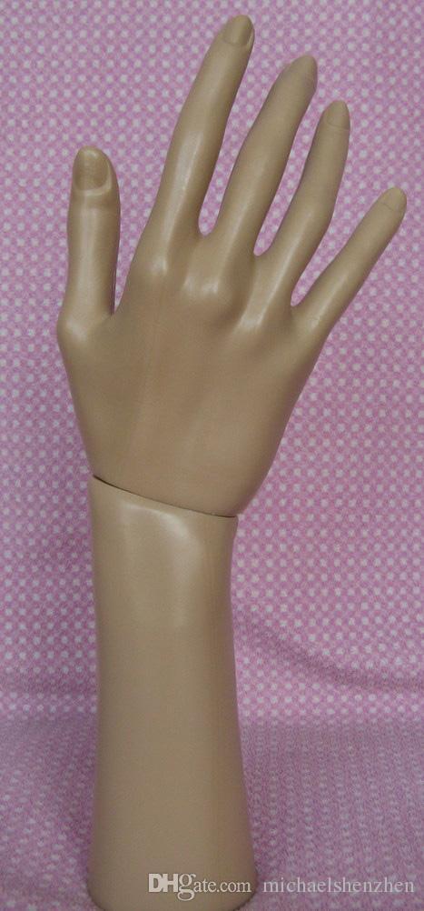 Exibição de Embalagem de jóias Manequim Mão Luvas de Exibição de Jóias Anel Pulseira Colar Titular Estande C001