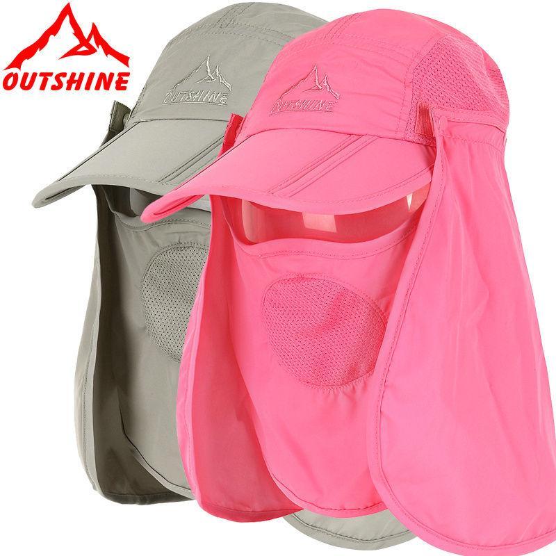Womens Mens Summer Fishing Hiking Travel Cap Summer Sun Protection Neck  Face Flap Hats Anti UV Mask Outdoor Climbing Beach Visor Hat UK 2019 From  Twckl 419ebf0a64f
