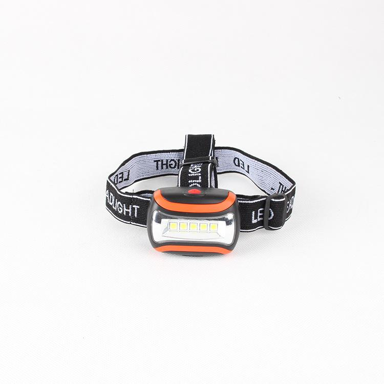 Mini 3 Modes Waterproof LED Flashlight Outdoors Headlight Headlamp Head Light Lamp Torch with Headband Use AAA 001