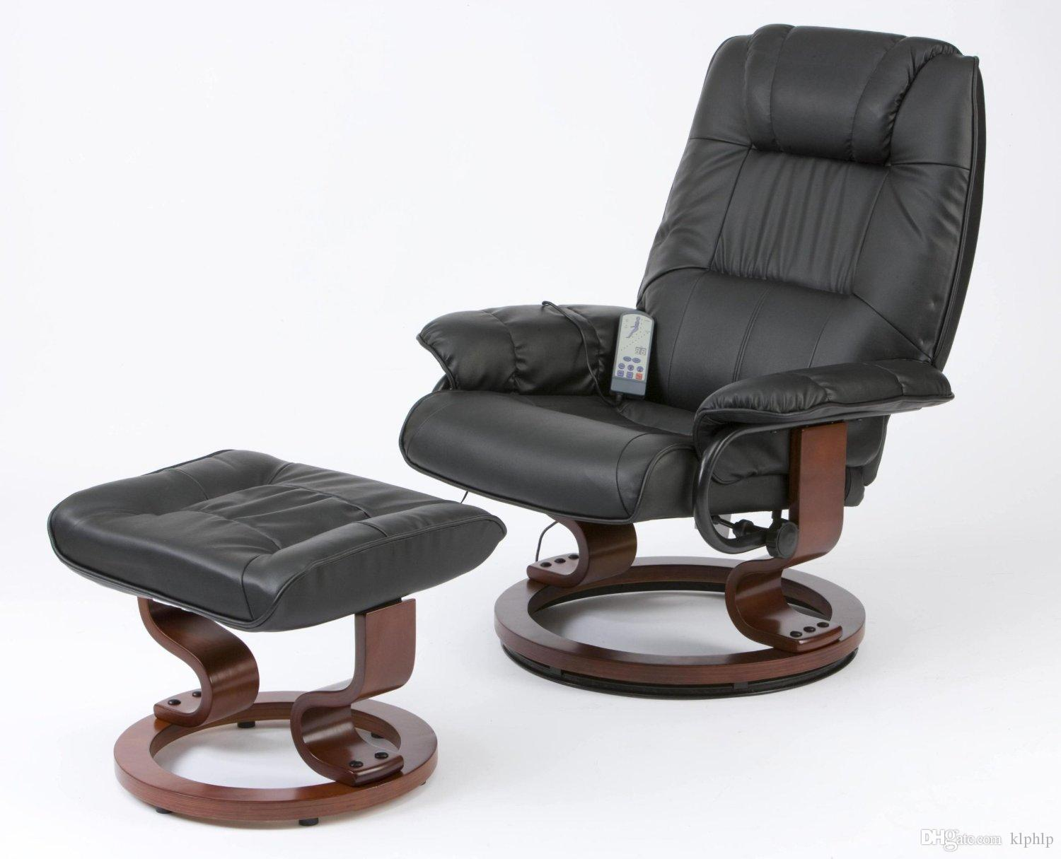 Medical Swivel Massage Chair and Stool Black Leather Pedicure Relax Recliner with 8-Motor Massage u0026 Heat Electric Game Chair & 2017 Medical Swivel Massage Chair And Stool Black Leather Pedicure ... islam-shia.org