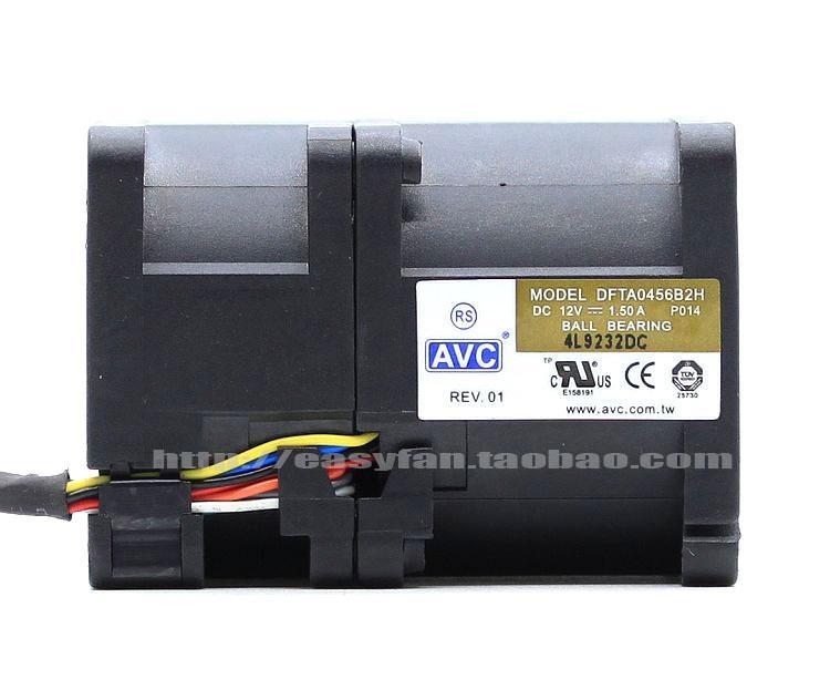Nowy oryginalny AVC DFTA0456B2H 12V 1.5a dla HP DL120G6 DL120G7 DL1660G6 DL165G7 Server wentylator