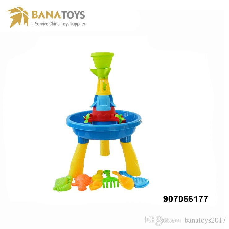 Summer outdoor beach toys sand and water table multiplayer toy set children gift beach outdoor toys sand water meter