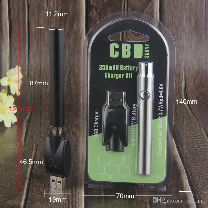 510 Konu Pil Ön Isıtma Fonksiyonu Wax e Sigara Buharlaştırıcı Vape Kalem Piller Değişken Gerilim Vape Kartuş Vape pil