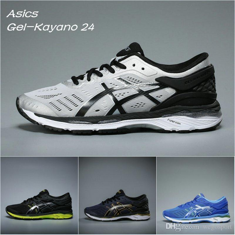 967b1c6d7ed 2019 2018 New Arrivals Boots Asics Gel Kayano 24 Originals Wrap Mens  Running Shoes Black White T749N 9390 Sport Sneakers 36 44 From Wegosport