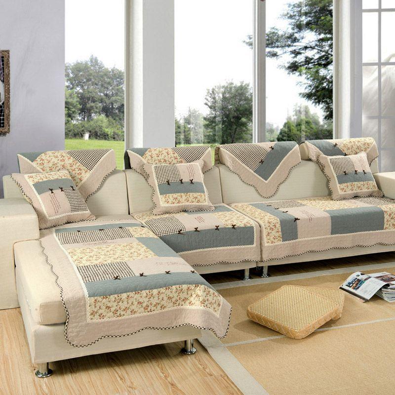 Korean Style Our Hot Sale Sofa Cover High Quality Sofa Cushion Sofa Mat Set Anti Slip Cloth
