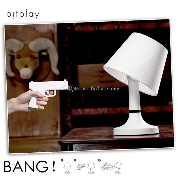 Creative Bitplay Bang Table Lamp Gun Shaped Remote Control Desk Lamp  Multifunction Table Lamp Bedside Lamp Novelty Gift For Men From  Fuzhaoxiong, ...