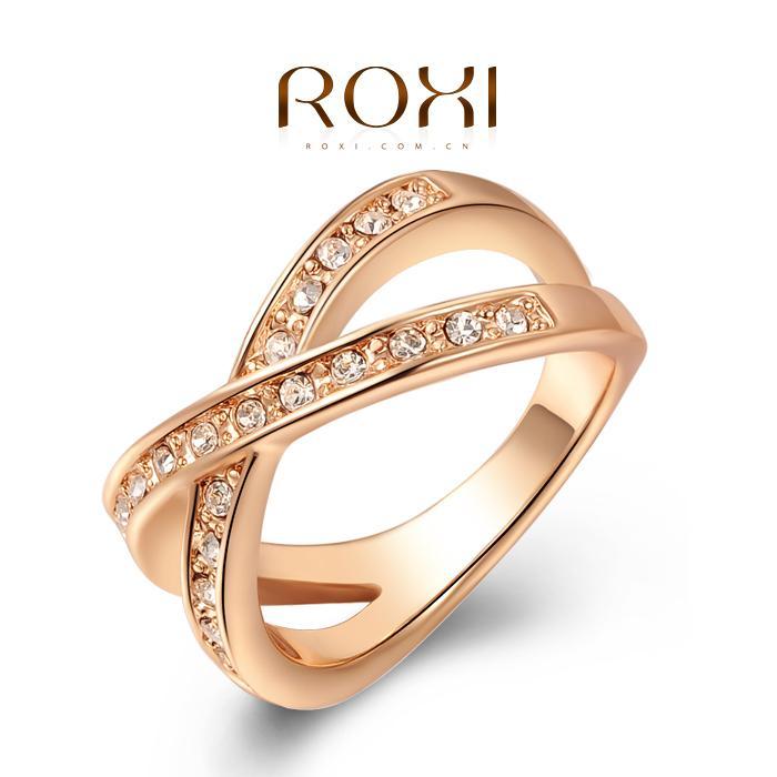 Best Fg 11.11sale Roxi Brands Rose Gold Wedding Cross Ring ...