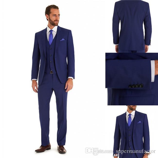 Groom Tuxedos Best Man Suit Mens Wedding Tuxedo Suits Mens Tuxedo ...