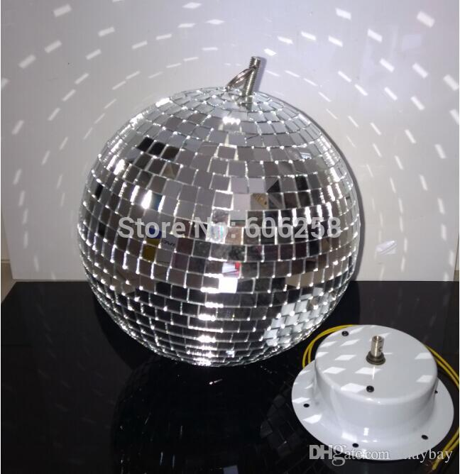 25CM 10inch Reflective Disco Glass Ball Mirror Stage Lighting Effect