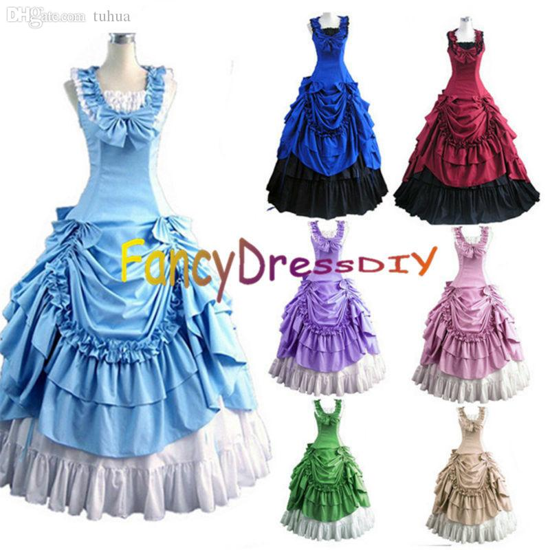 Wholesale 2015 Halloween Costumes For Women Adult Southern Victorian
