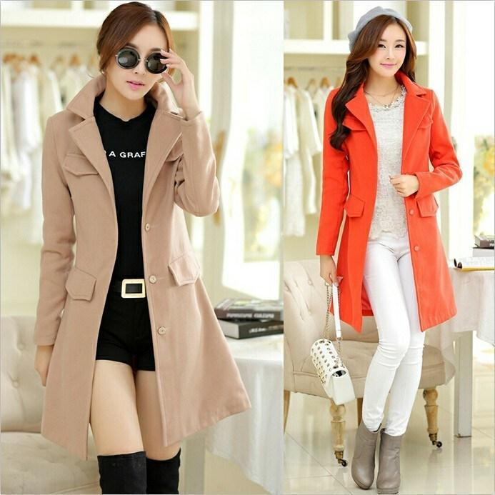 2017 Hot Sale New Women'S Coats Trench Coats Autumn And Winter ...