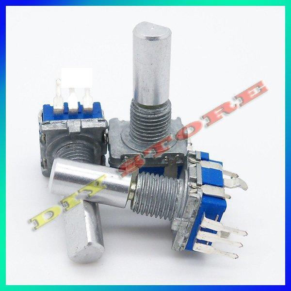 Wholesale 20pcs/lot 12mm Rotary Encoder Switch W. Keyswitch HQ New+free shipping-10000002