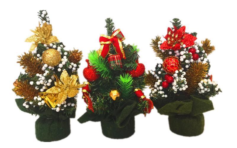 mini christmas tree decoration 20cm high weighs 65 grams pvc green xmas wedding gifts santa decorations anniversary gifts christmas decorations catalogs - Mini Christmas Tree Decorations