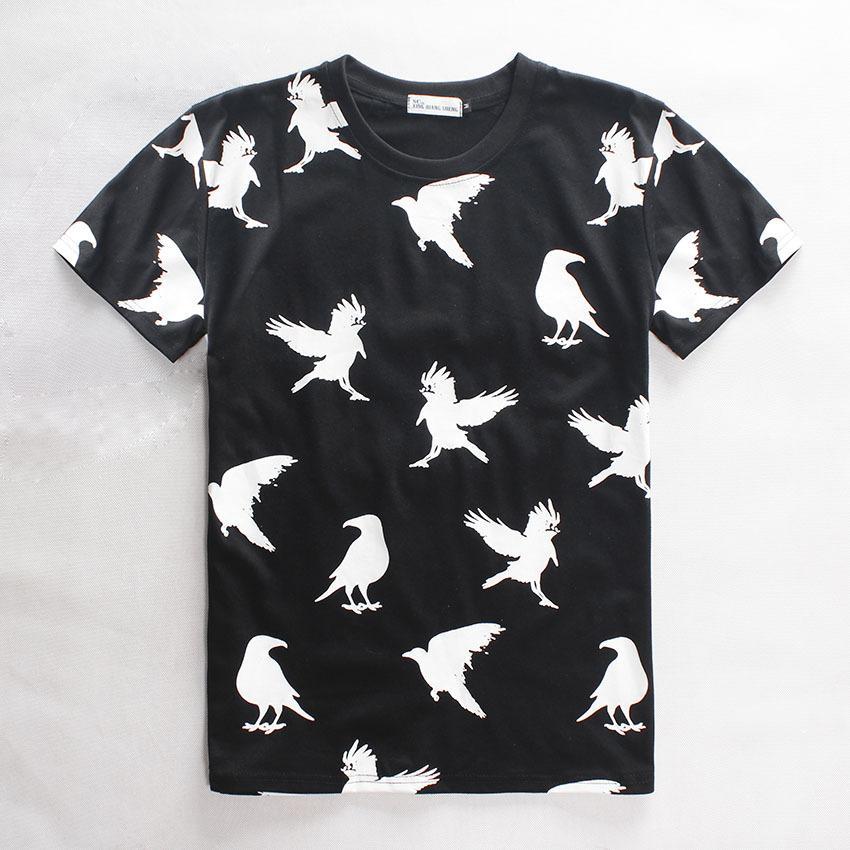 New 2015 Hot 3d Print Pigeon Bird T Shirt Men/Women Religion ...