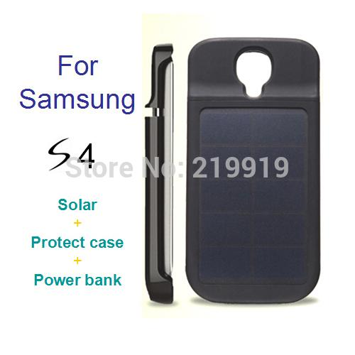 size 40 eb928 93055 Solar charger case protect case for S4 Solar Recharge Battery Case for  Samsung Galaxy S4 Power Bank 3000mah