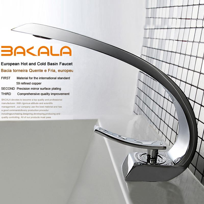 Wholesale Best Quality Brand Bakala Modern Washbasin Design Bathroom Faucet  Mixer Waterfall Hot And Cold Water Taps For Basin Of Bathroom F6101 1 And  ...