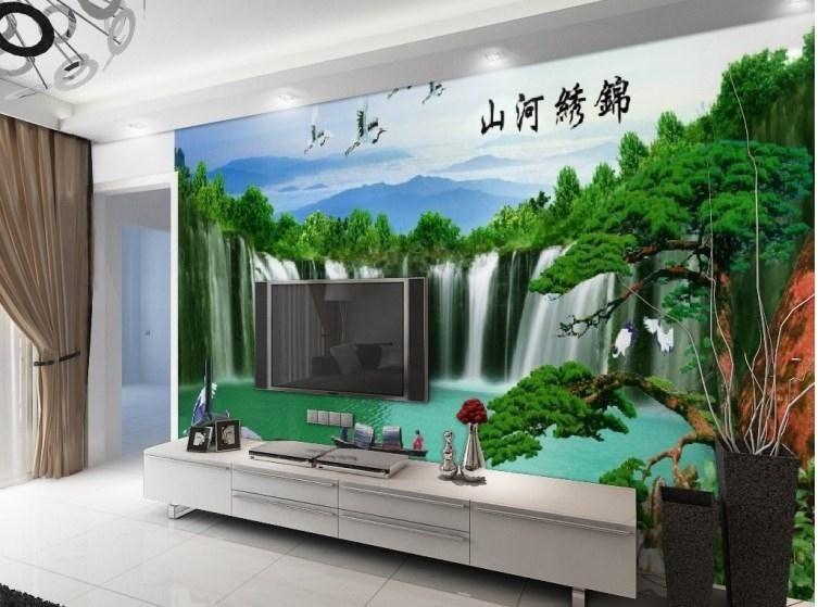 Factory Direct High Quickly HD Mural 3d Wallpaper Modern ...