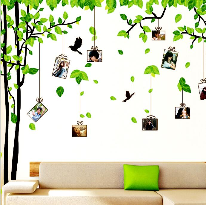 Wall Art Stickers Dunelm : Removable art vinyl quote diy memory tree wall sticker