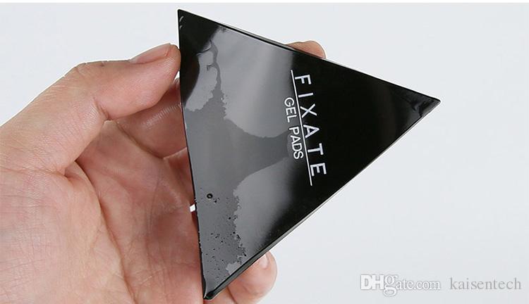 Forte Vara Cola titular do telefone Fixar Almofadas de Células Pegajosa Anti-Slip GEL Almofadas Vara de Vidro, Espelhos, Quadros de Metal Armários de Cozinha de Metal Telha
