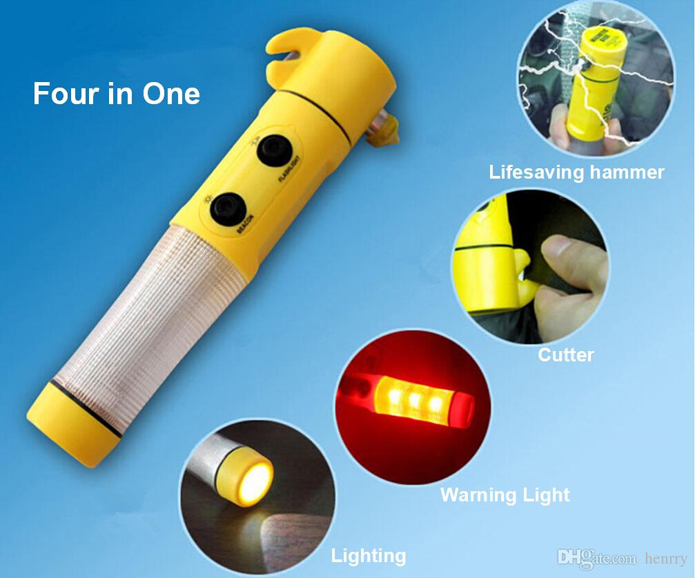 Four In One Car Safety Hammer Multifunctional Lifesaving Hammer Auto Escape Hammer Broken Window Is An Emergency Tool