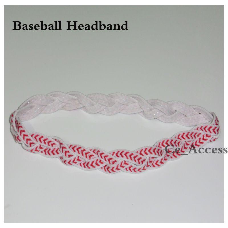 NON Slip braided Hair Head Bands. Dance Cheer Fitness Workout Sports Yoga Fashion.