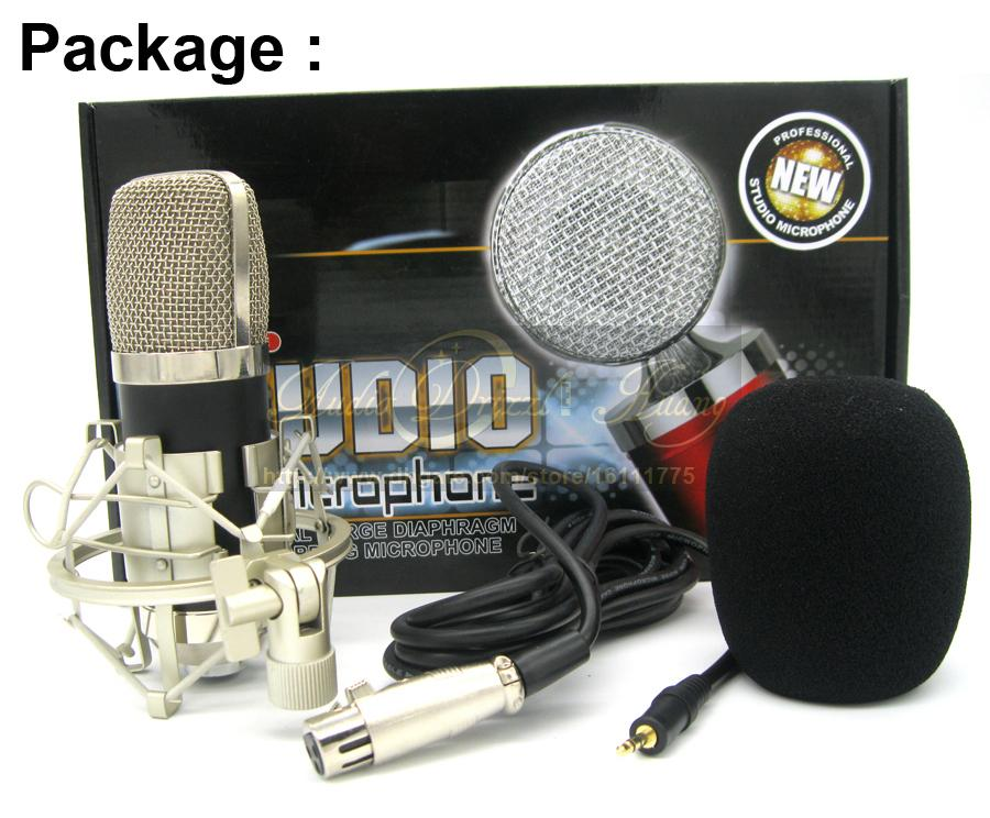 أعلى جودة أعلى جودة المهنية ستوديو تسجيل مكثف ميكروفون BM700 ميكروفون ل كاريوكي موسيقى الغيتار إنشاء البث microfono الكمبيوتر