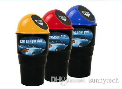 Recién Diseño delicado Vehículo de basura vehículo de lata Contenedor de Basura de Polvo de Basura Bin Bin Venta Caliente
