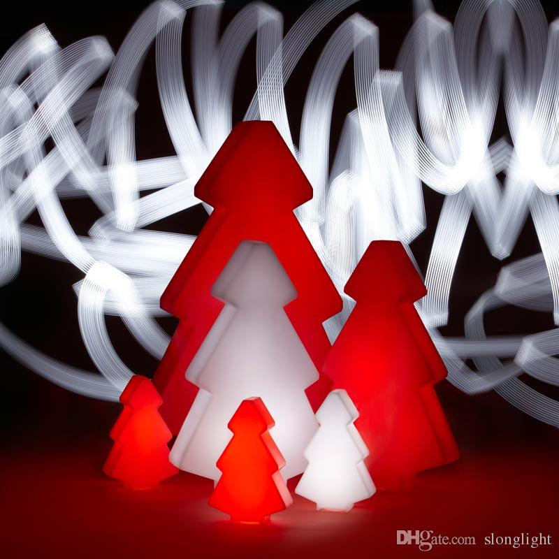 waterproof outdoor remote control color changeable LED light tree of led floor lamp for Christmas decoration lighting