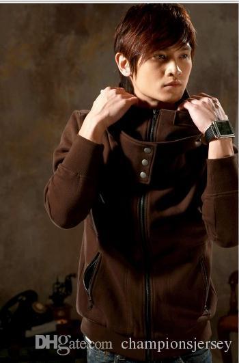 Assasins creed Nuovi uomini outwear cappotto cappotto guard cardigan uomo giacca con cappuccio sangue vendite grigie championsjersey