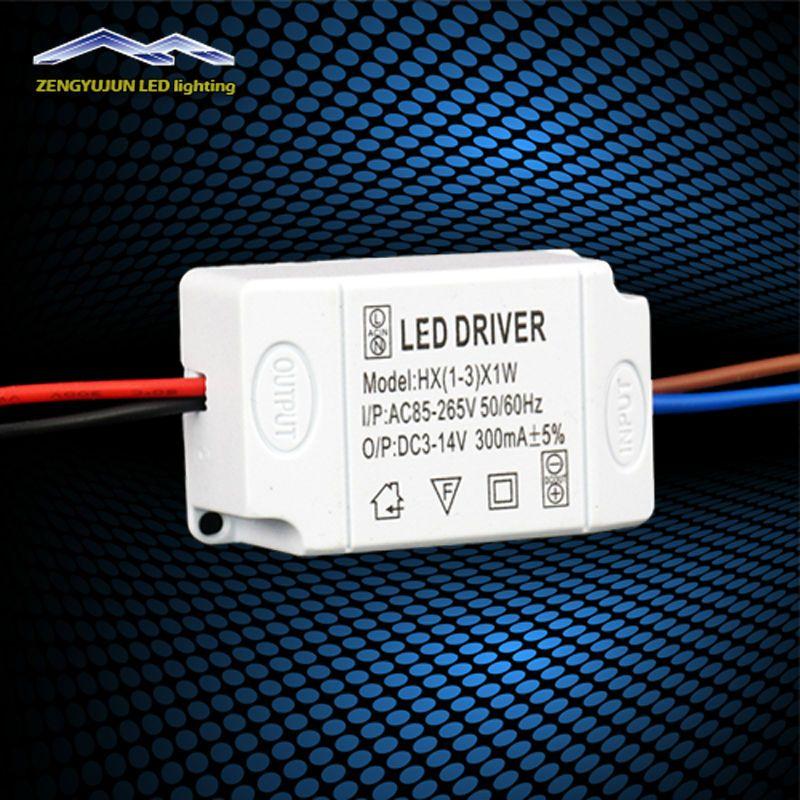 X1W V LED Driver Convertor Transformer Ceiling Light Power Supply