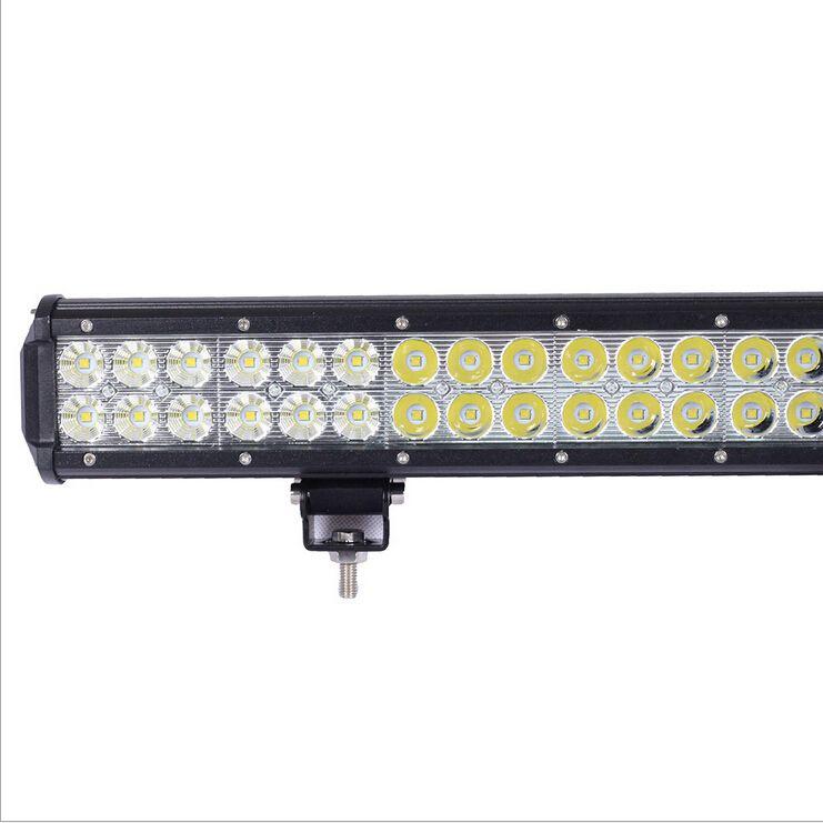 22.5 polegada 144 W levou barra de luz Caminhão Levou Luz de trabalho 48x3 W feixe de lâmpada off-road 12 V / 24 V 4WD 4x4 Barra de luz de condução