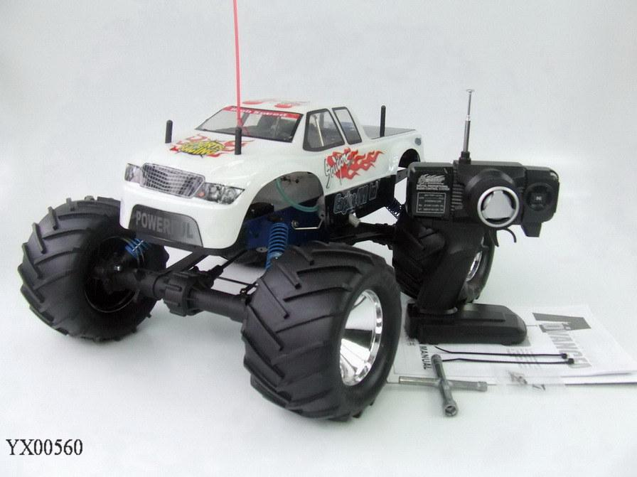 Rc Truck Nitro Gas Engine Speed Monster Truck Rtr