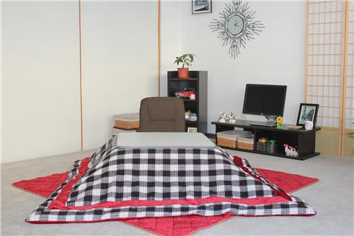 4pcs Set Japanese Kotasu Table Futon Heater Living Room Furniture Legs Foldable Foot Warmer Heated Tatami Kotatsu Low Coffee