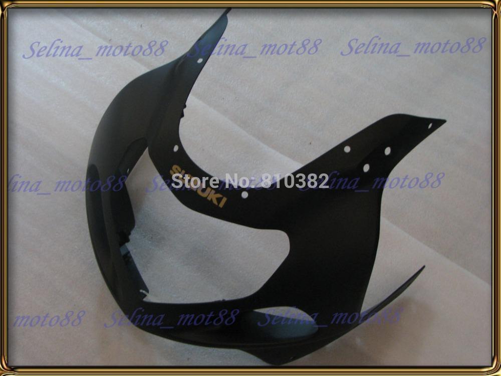 Kit carena moto SUZUKI GSXR 600 750 01 02 03 600 GSXR GSX-R750 K1 2003 2001 2002 nero opaco pannelli corpo PM10