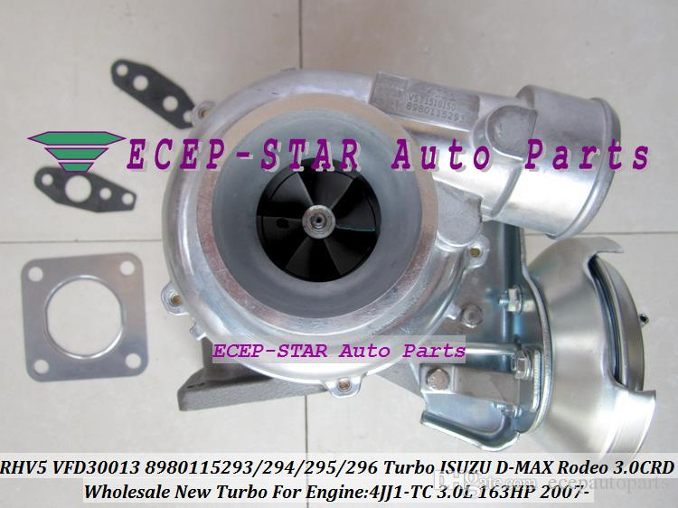 RHV5 VIEZ VFD30013 8980115293 8980115294 8980115295 8980115297 Turbo  Turbocharger For ISUZU D-MAX Rodeo 3 0L CRD 2007- 4JJ1-TC 4JJ1T 163HP
