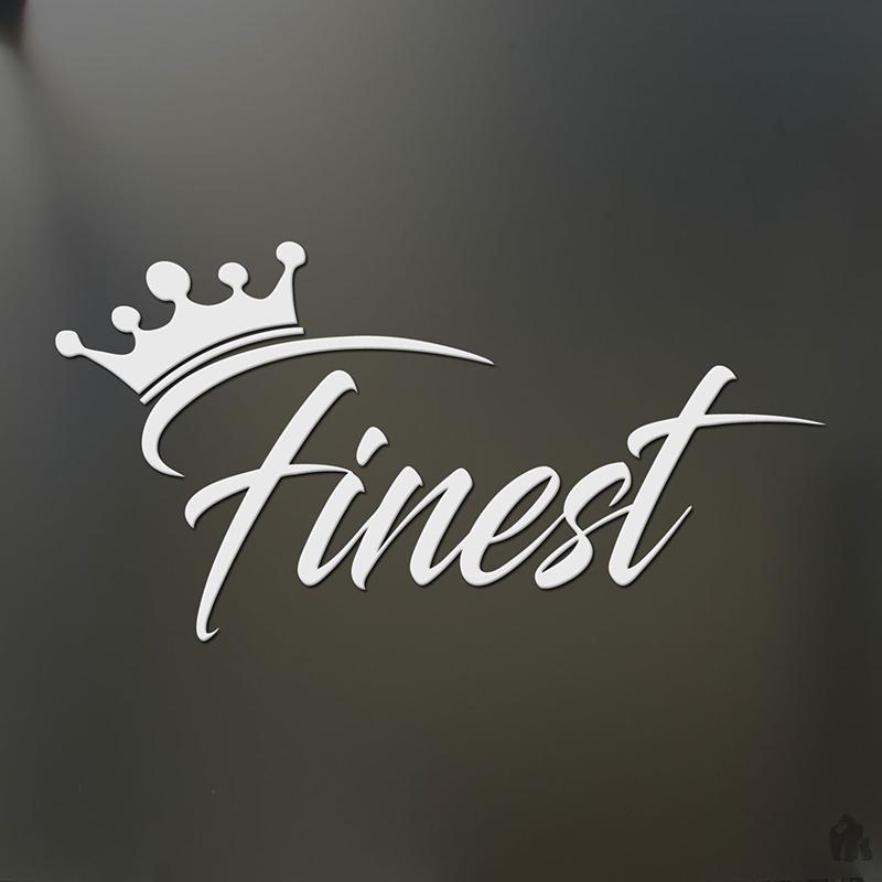 4c02cacb427 Finest Sticker Crown Racing JDM Funny Drift Car Window Decal Car Sticker  Vinyl Sticker Car Styling Online with  4.0 Piece on Xymy787 s Store