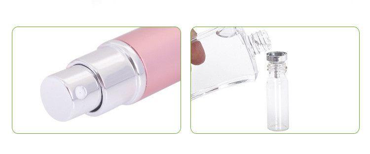 جودة عالية 6 مل المحمولة السفر subpackage زجاجة مستحضرات التجميل مستحلب زجاجة عطر زجاجة إعادة الملء FA506