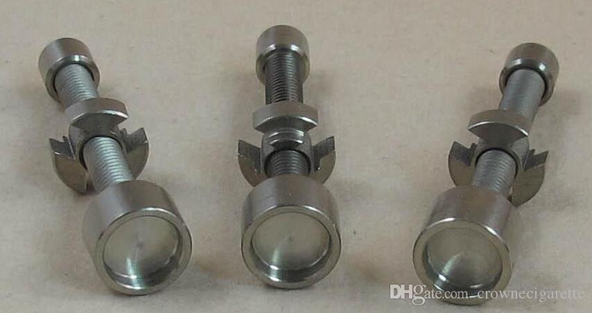 14mm titan nagel titan bong nagel dampfkuppel glas quarz nagel für glas bong glas für weihrauch globe tupfen öl rigfree versand