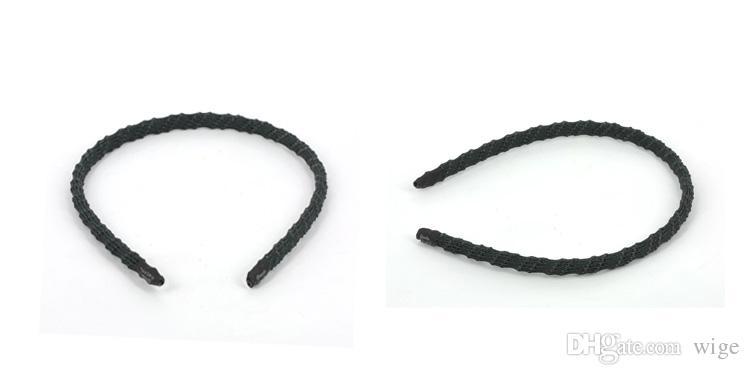 Goody Stay Put Hold Tight Headbands no slip headband black Color