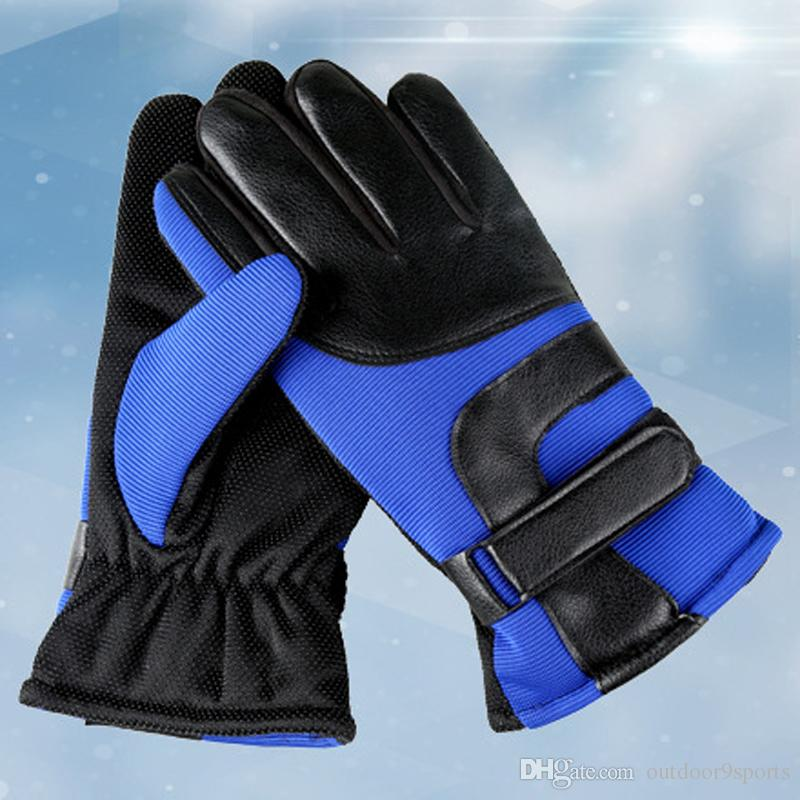 New Cycling Gloves Winter Bike Bicycle Gloves Riding Gym Full Finger Outdoor Sports Shockproof Mittens Warmly Sports Gloves