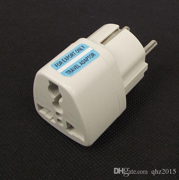 Adaptador Universal de Viagem Austrália AU / EUA EUA / REINO UNIDO para Plugue DA UE Adaptador De Alimentação AC Wall 250 V 10A Conversor de Soquete