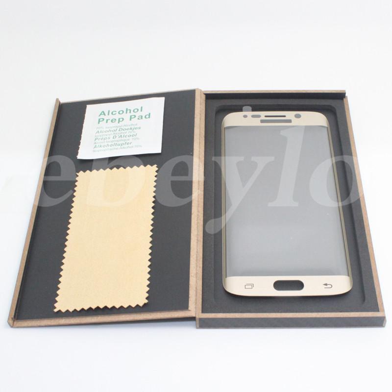 S9 / S9 플러스 / S8 / S8 플러스 / S7 에지 / S6 에지 / 참고 가장자리 참고 사항 7 전체 커버 3D 곡선 강화 유리 스크린 보호기