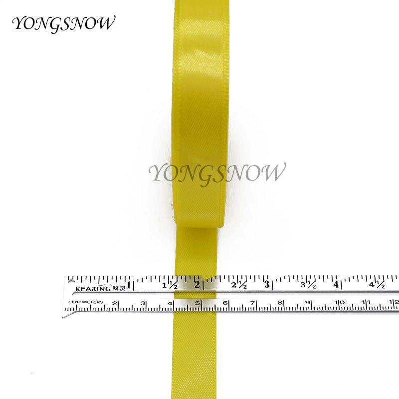 22 m / lote 15mm De Seda De Cetim Organza Fita De Poliéster Para Webbing Bolo De Costura Embalagem Do Partido Decoração Artesanato Embalagem de Presente 8Z